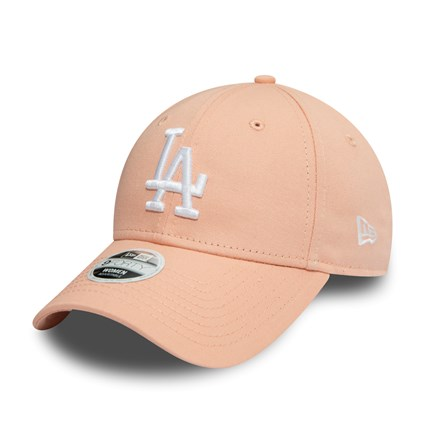 Los Angeles Dodgers Essential Womens Pink 9FORTY Cap