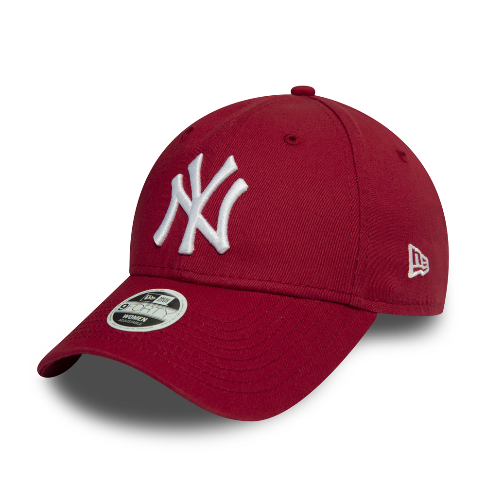 New York Yankees Essential Womens Red 9FORTY Cap