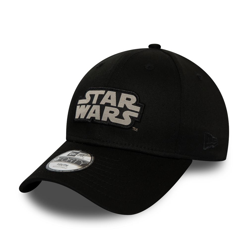 Schwarze 9FORTY-Kappe für Kinder mit Star Wars Titel