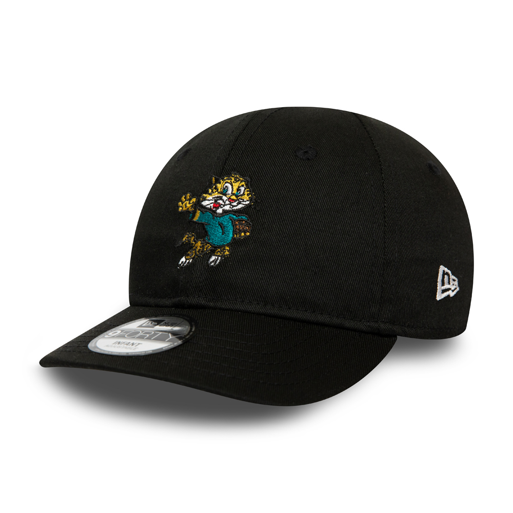 Jacksonville Jaguars Mascot Infant Black 9FORTY Cap