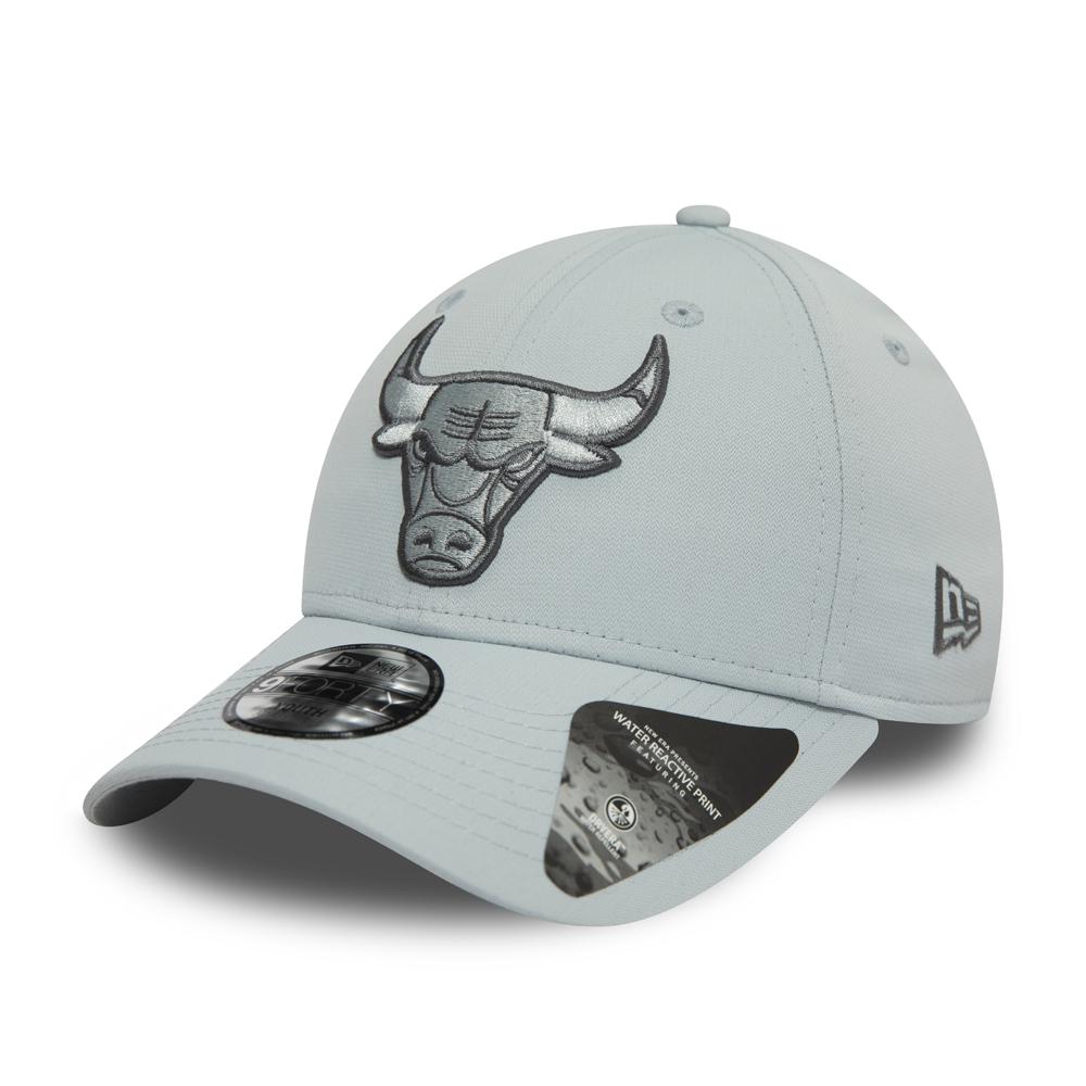 Gorra Chicago Bulls 9FORTY niño, camuflaje gris