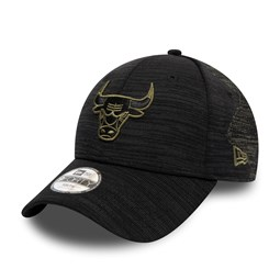Gorra Chicago Bulls Engineered Fit 9FORTY niño, negro