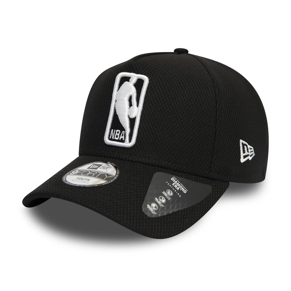 Gorra trucker NBA Logo niño, base negra
