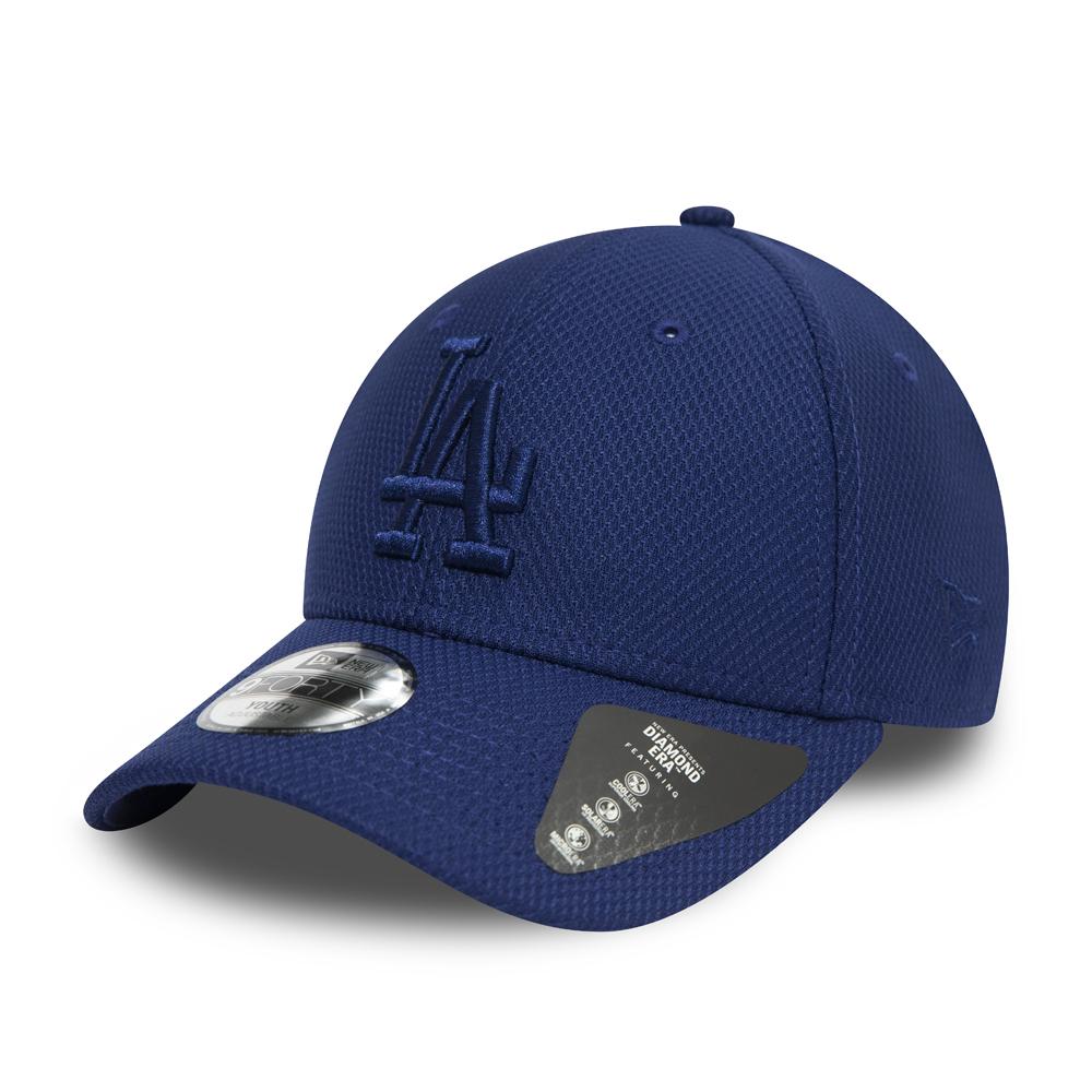 Gorra Los Angeles Dodgers 9FORTY azul monocromático para niños