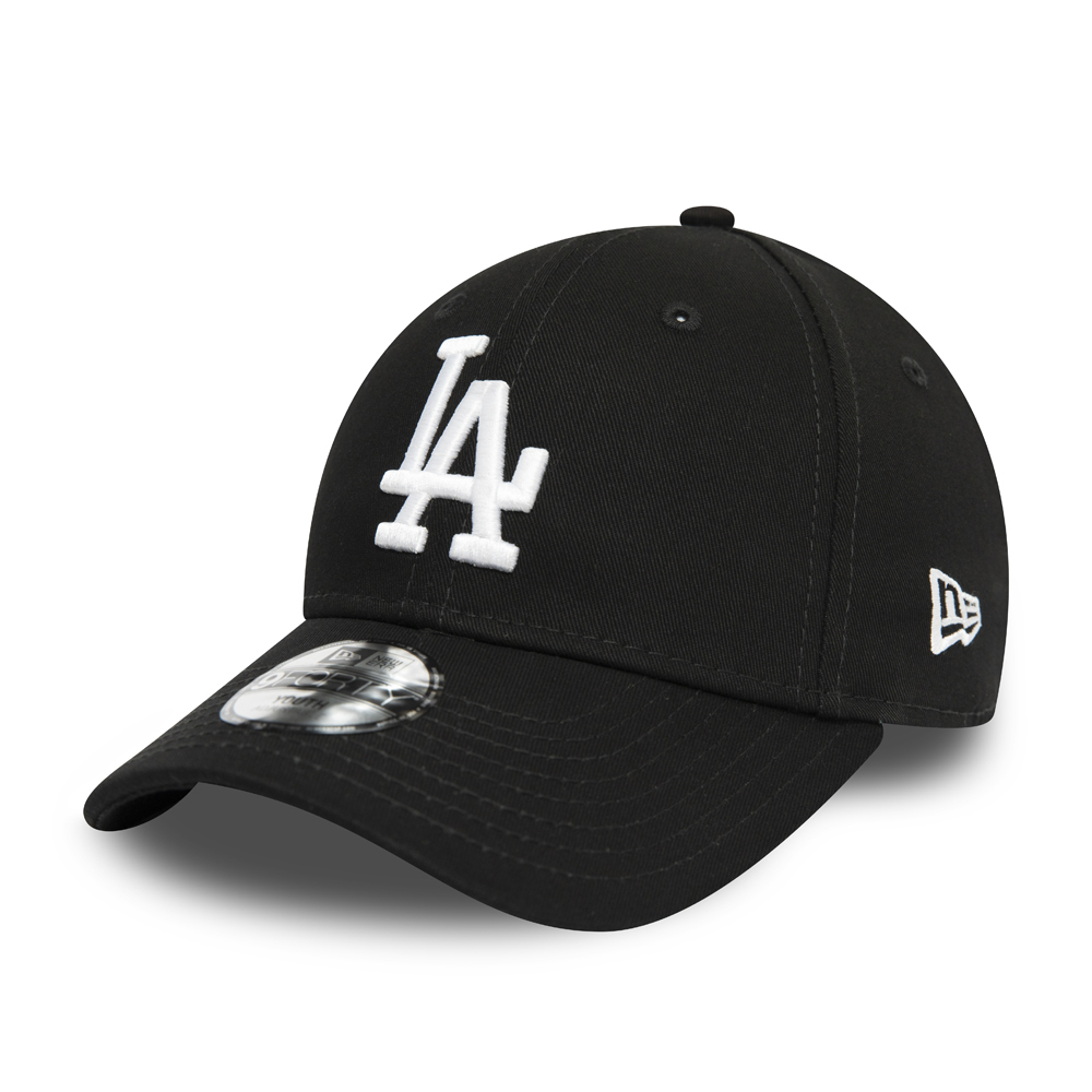 Gorra Los Angeles Dodgers Essential 9FORTY niño, negro