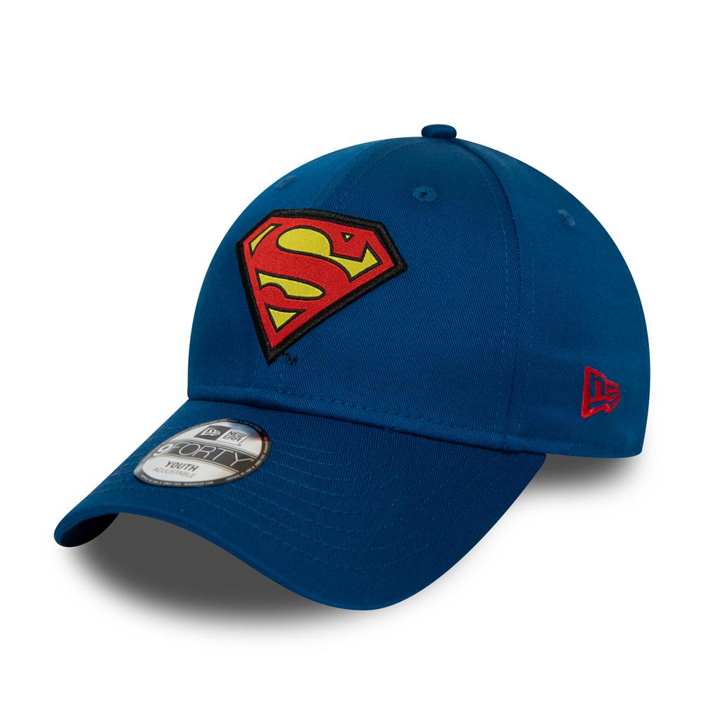 Casquette 9FORTY bleue pour enfants avec le personnage Superman