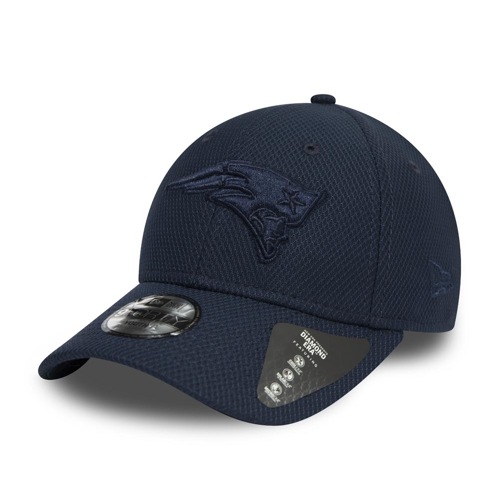 Cappellino 9FORTY New England Patriots blu navy bambino