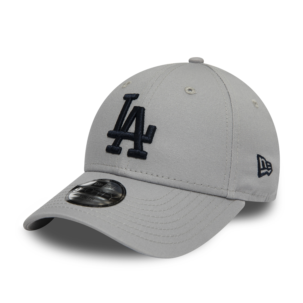 Gorra Los Angeles Dodgers Essential 9FORTY niño, gris