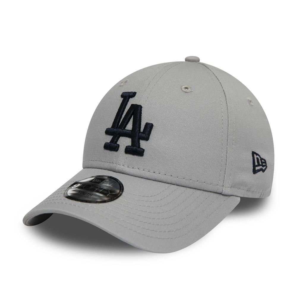 Gorra Los Angeles Dodgers Essential 9FORTY niño, gris