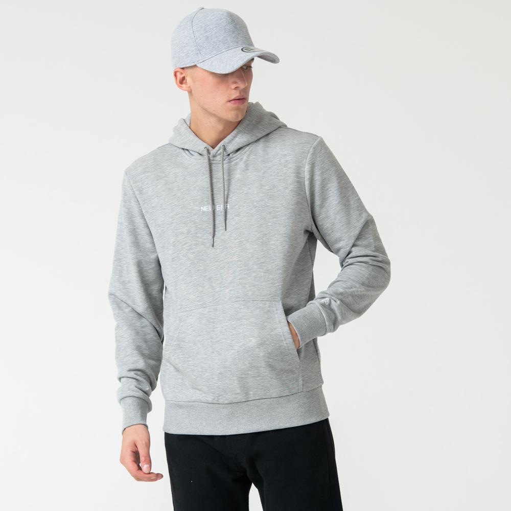 Sweat à capuche gris Essential de New Era