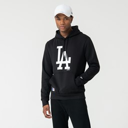 Los Angeles Dodgers Logo Black Pullover Hoodie