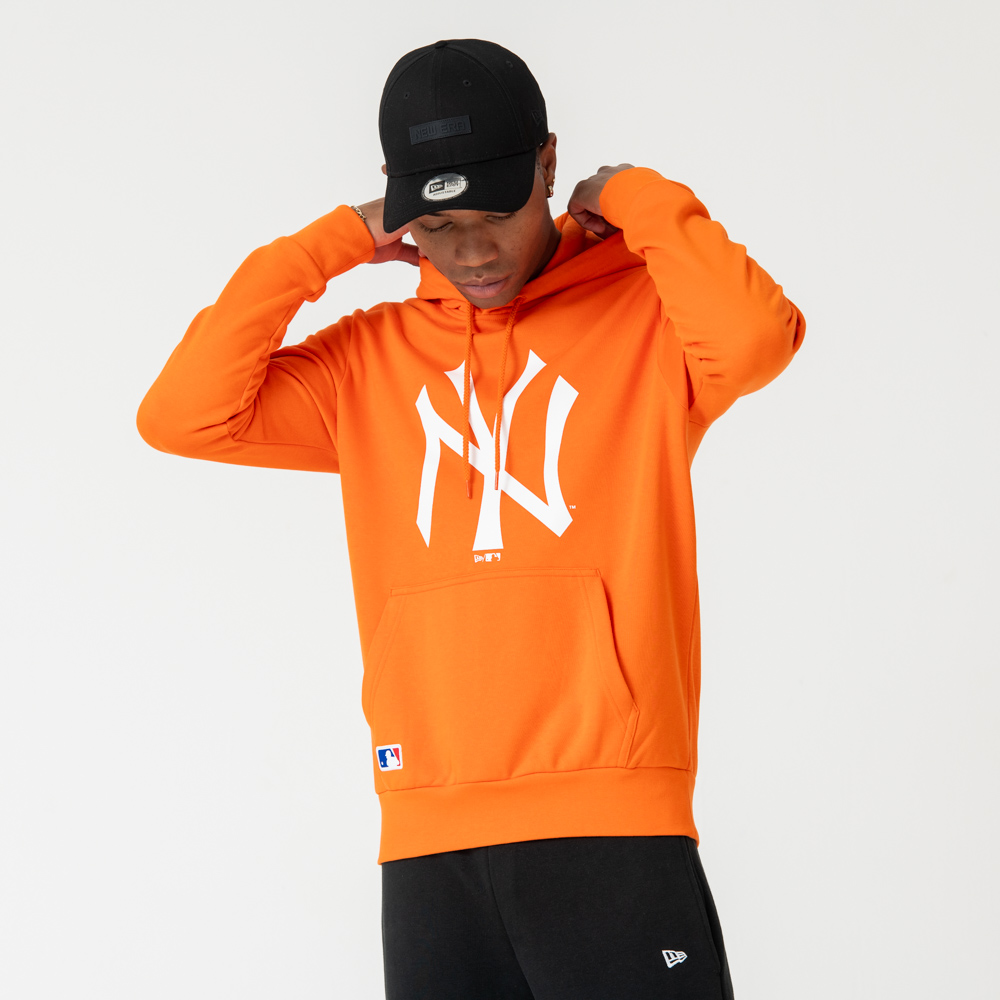New York Yankees Orange Pullover Hoodie | New Era Cap Co.
