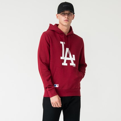 Los Angeles Dodgers Red Pullover Hoodie