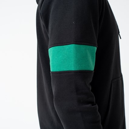 Boston Celtics Black Zip Hoodie