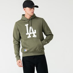 Los Angeles Dodgers Green Pullover Hoodie