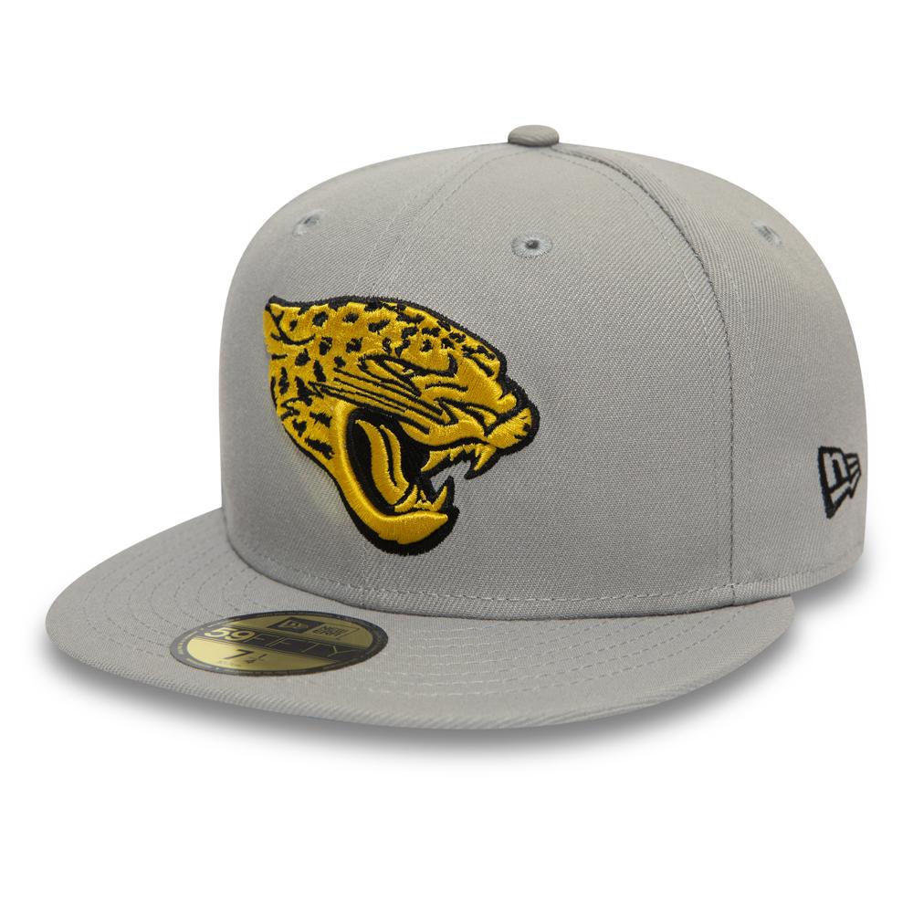 Graue 59FIFTY-Kappe der Jacksonville Jaguars