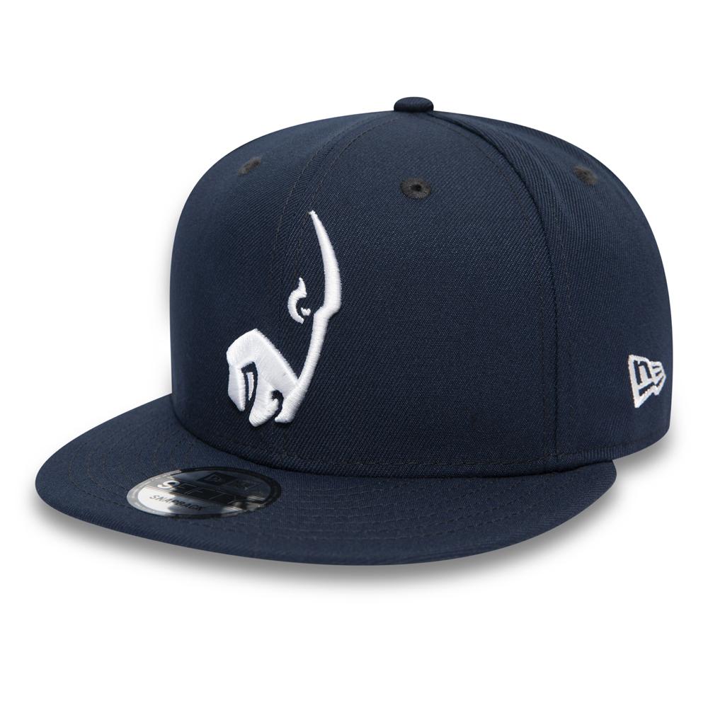 Casquette 9FIFTY bleu marine avec logo des Rams de Los Angeles