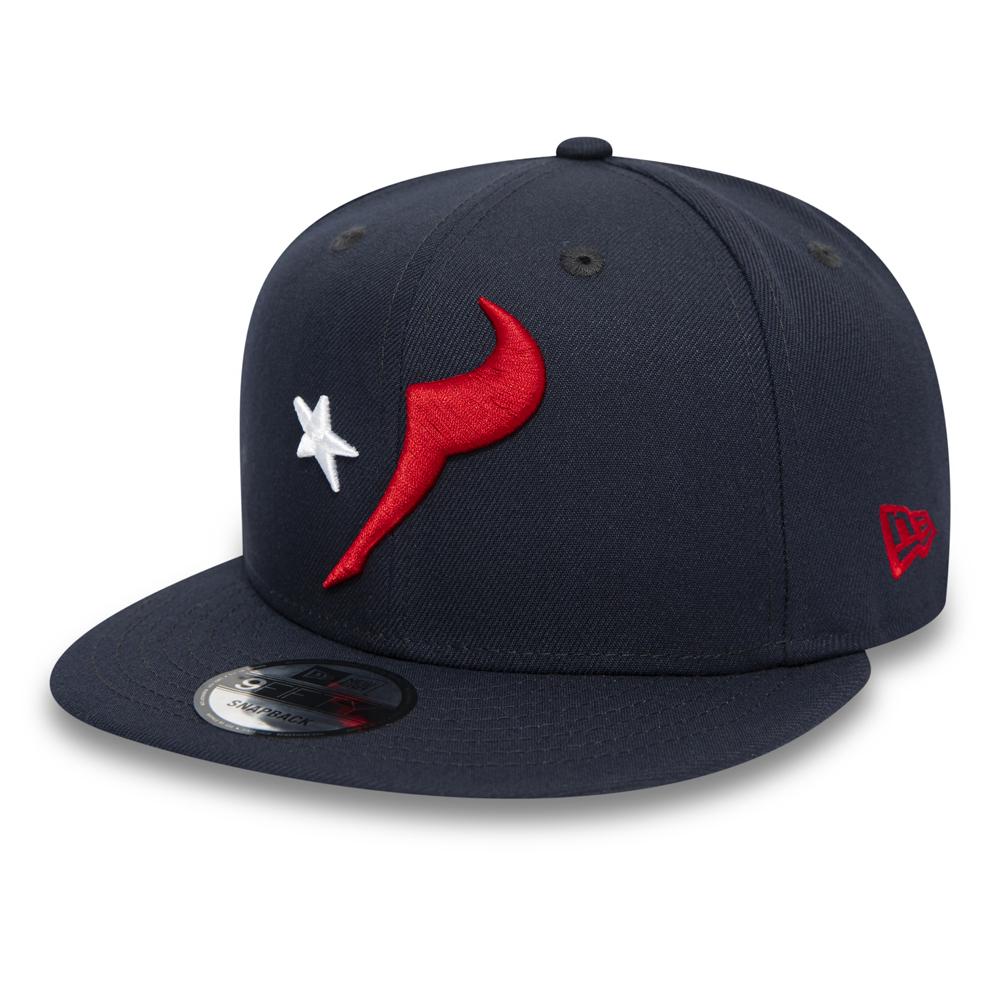 Casquette 9FIFTY bleu marine avec logo Element des Texans de Houston