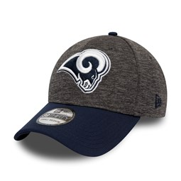 Gorra Los Angeles Rams Shadow Tech 39THIRTY, gris