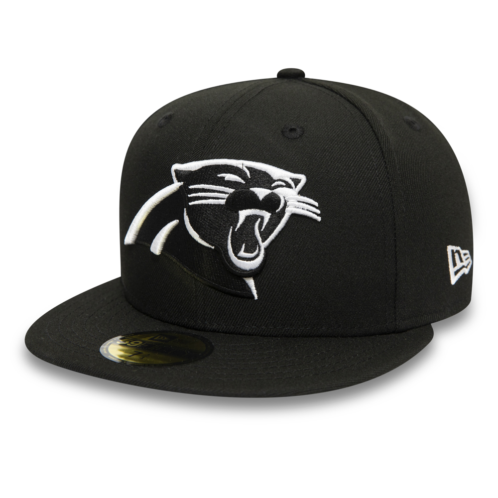 Carolina Panthers Black 59FIFTY Cap