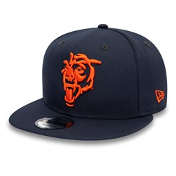 Gorra Chicago Bears Element Logo 9FIFTY, azul marino