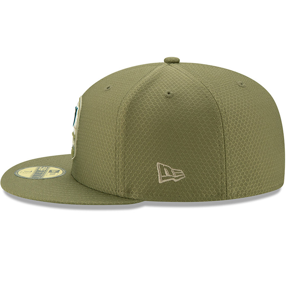 Philadelphia Eagles Salute To Service Green 59FIFTY Cap