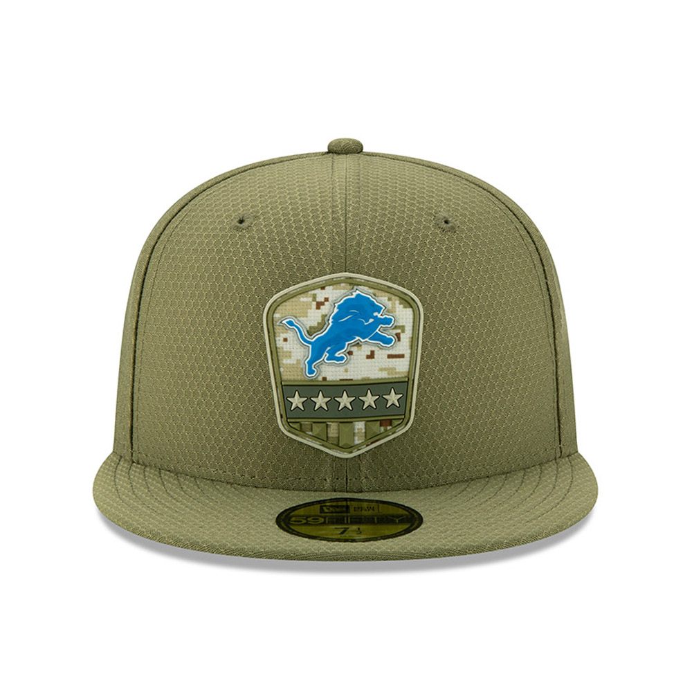 Casquette Detroit Lions Salute To Service 59FIFTY vert
