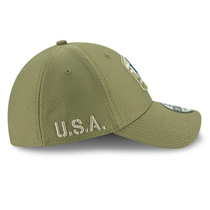 Dallas Cowboys Salute To Service Green 39THIRTY Cap
