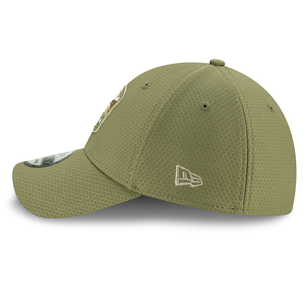 Chicago Bears Salute To Service Green 39THIRTY Cap