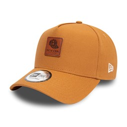 Gorra trucker New Era Duck Canvas A Frame Trucker, tostado
