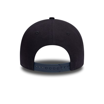 New Era Duck Canvas Navy A Frame Trucker Cap