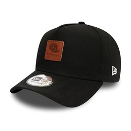New Era Duck Canvas Black A Frame Trucker Cap
