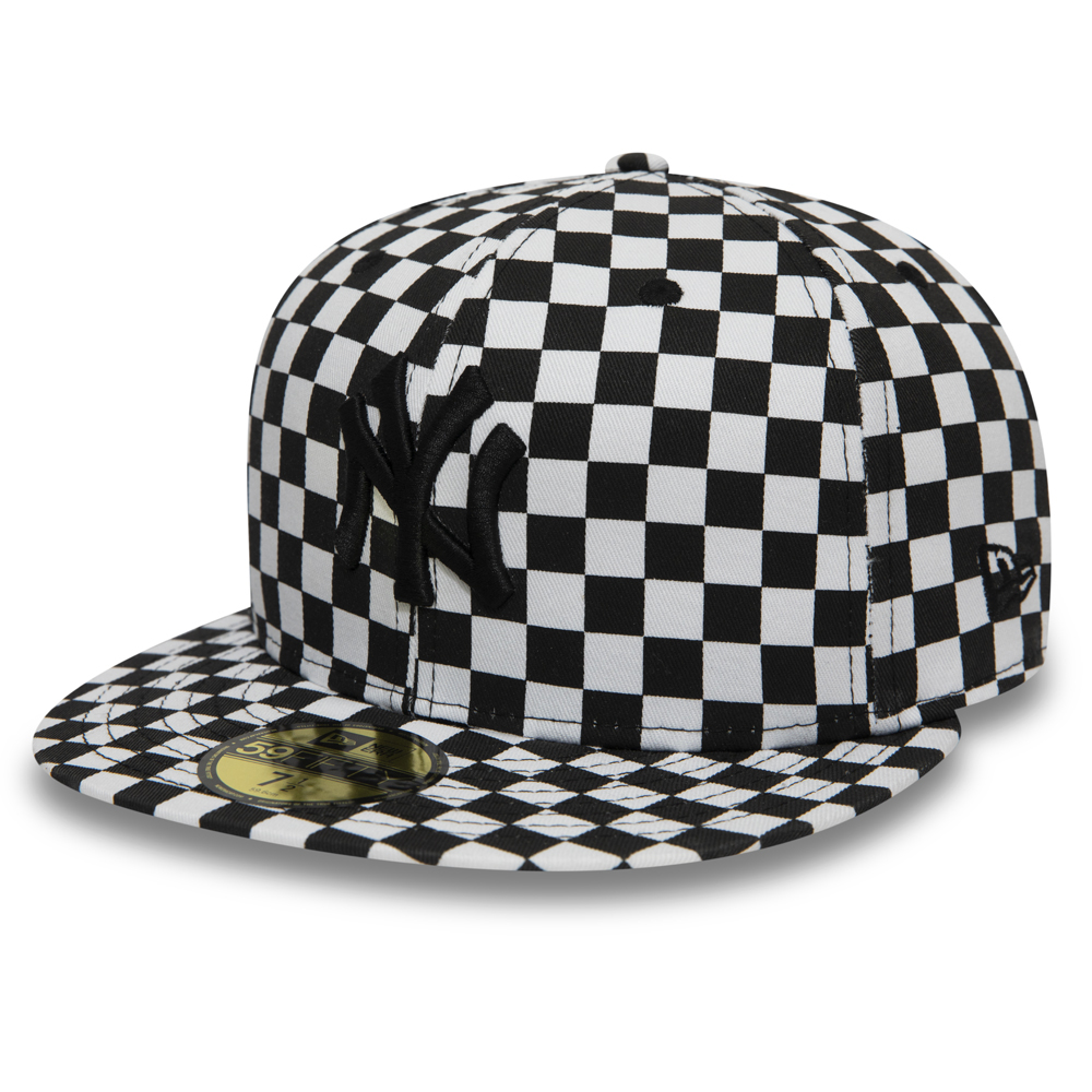 Casquette 59FIFTY des New York Yankees Checker