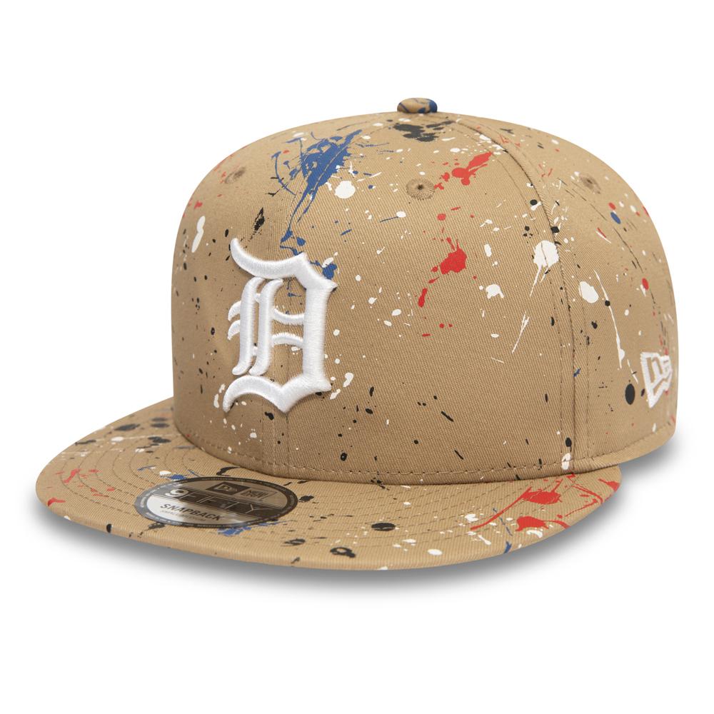 9FIFTY-Kappe der Detroit Tigers mit Farbspritzer-Effekt