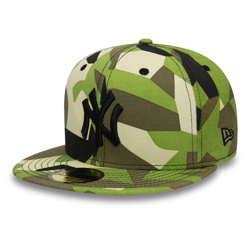 New York Yankees – Country  59FIFTY-Kappe mit Camouflagemuster