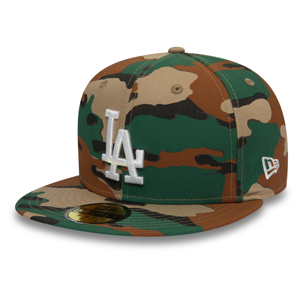 Los Angeles Dodgers – Country  59FIFTY-Kappe mit Camouflagemuster