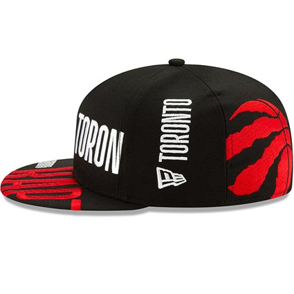 Toronto Raptors Tip Off Black 59FIFTY Cap