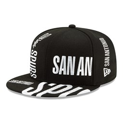Cappellino 59FIFTY Tip Off nero dei San Antonio Spurs