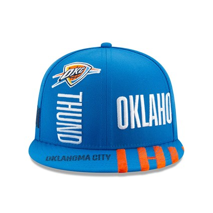 Oklahoma City Thunder Tip Off Blue 59FIFTY Cap