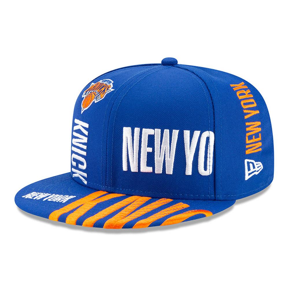 Gorra New York Knicks Tip Off 59FIFTY, azul
