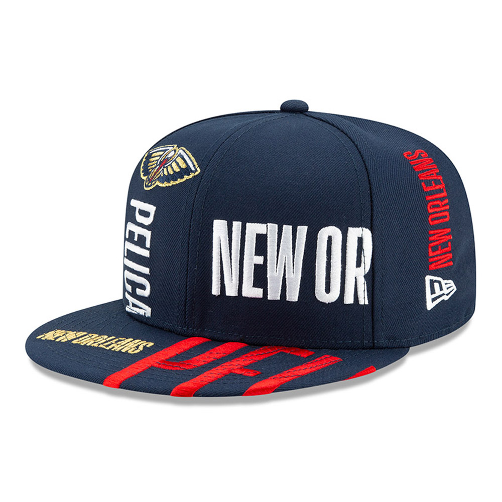 "New Orleans Pelicans 59FIFTY-Kappe ""Tip Off"" in Blau"