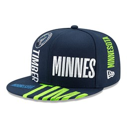 Cappellino 59FIFTY Tip Off blu dei Minnesota Timberwolves