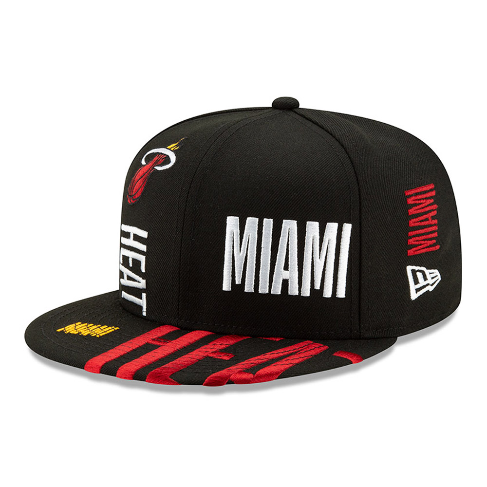 Miami Heat Tip Off Black 59FIFTY Cap