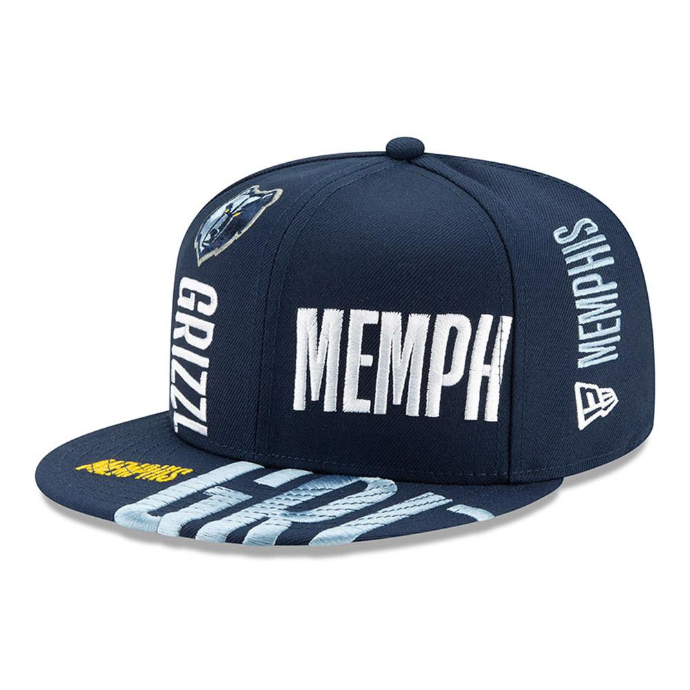 Casquette 59FIFTY bleue Tip Off des Grizzlies de Memphis