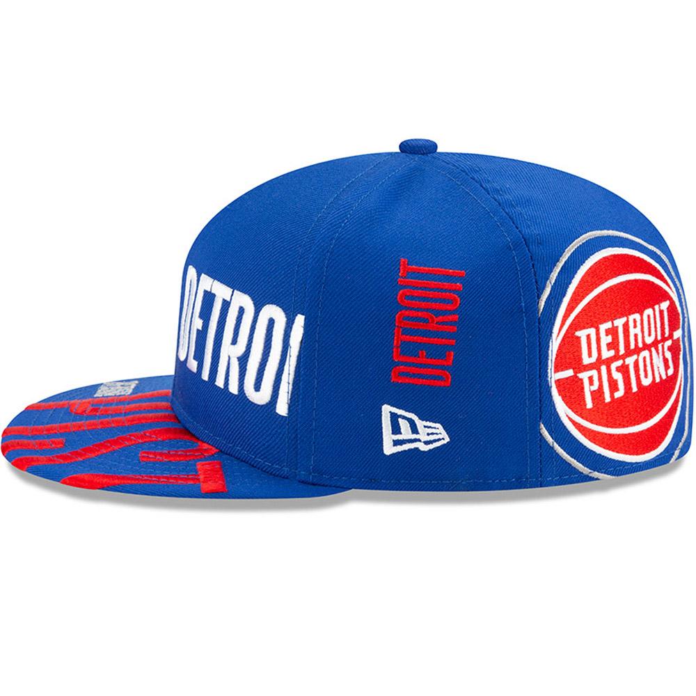 Casquette 59FIFTY bleue Tip Off des Pistons de Détroit
