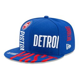 Gorra Detroit Pistons Tip Off 59FIFTY, azul
