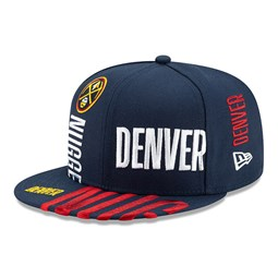 Casquette 59FIFTY bleue Tip Off des Nuggets de Denver