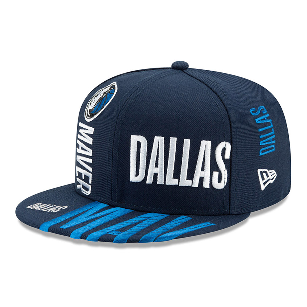 Casquette 59FIFTY bleue Tip Off des Mavericks de Dallas