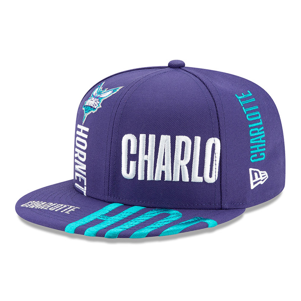 Charlotte Hornets Tip Off Blue 59FIFTY Cap
