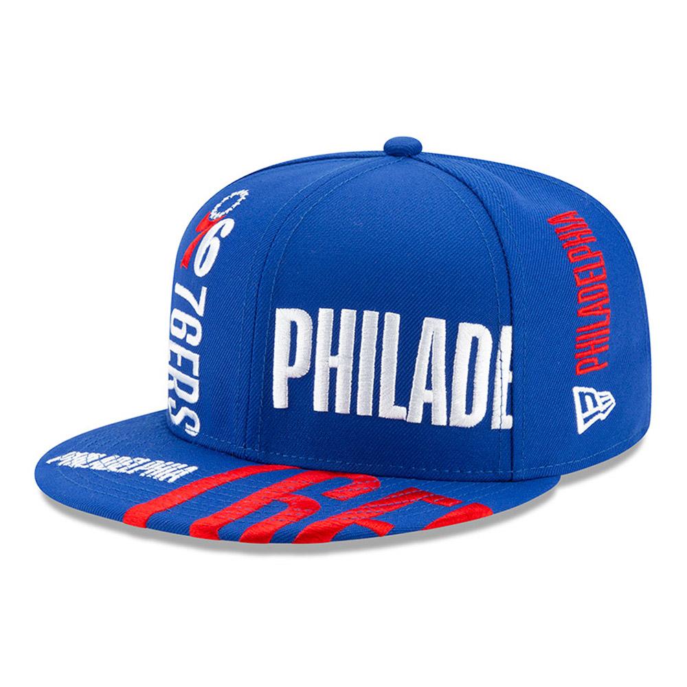 Gorra Philadelphia 76ERS Tip Off 59FIFTY, azul